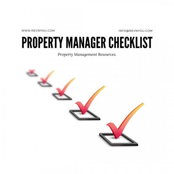 Property Management Check list Cover Photo