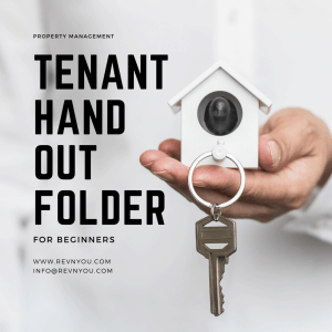 Tenant Hand out Folder Cover Photo