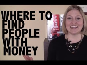 finding people with money for real estate deals