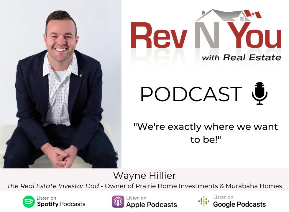 Revnyou Podcast- Wayne Hillier
