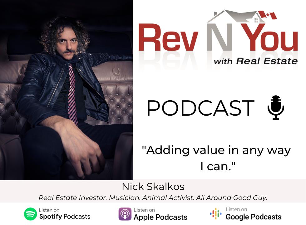 Podcast episode nick skalkos